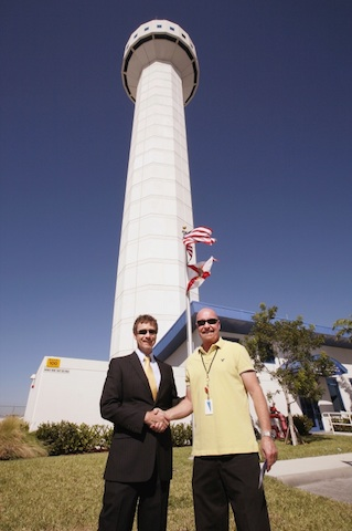 Victor Santor and Opa locka Federal Contract Tower Nov. 2012
