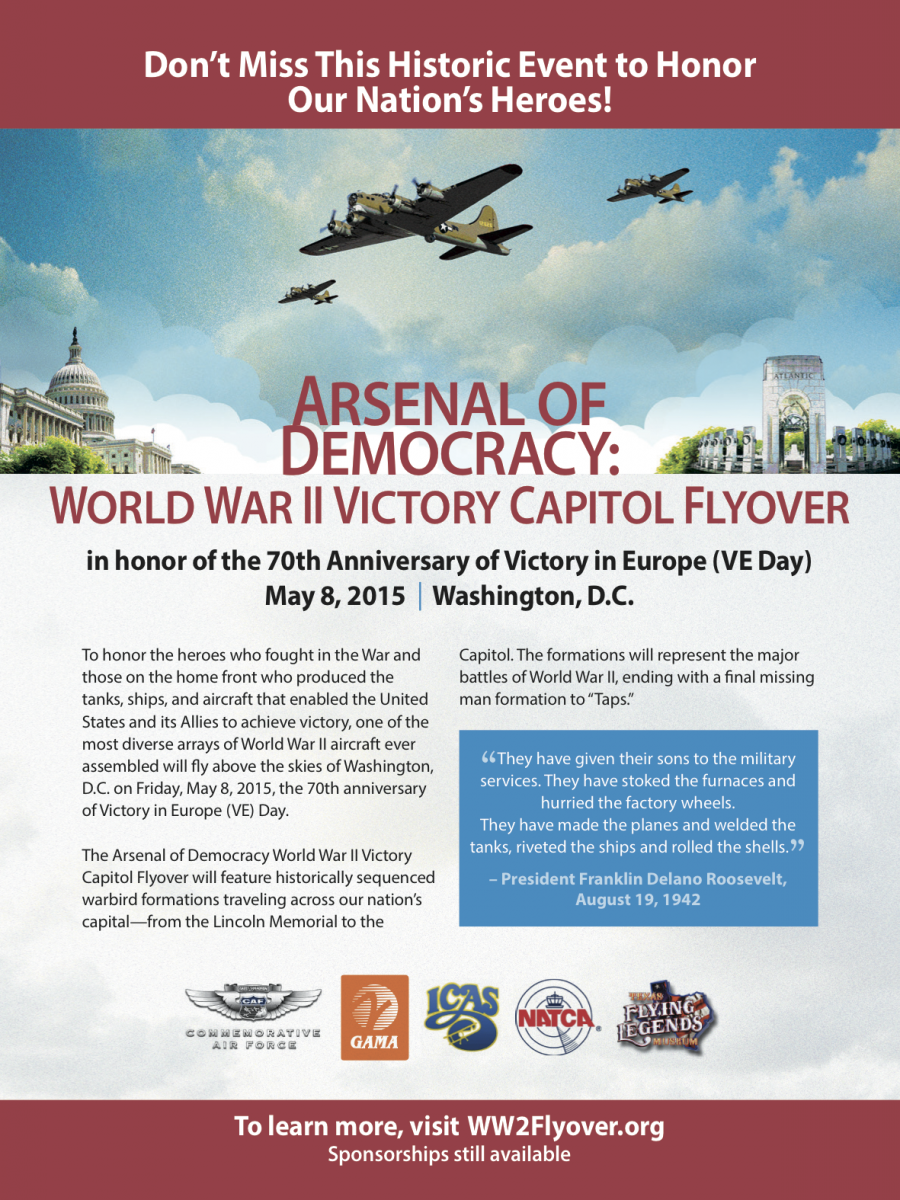 WWII Flyover Ad AirSpace FPage rev