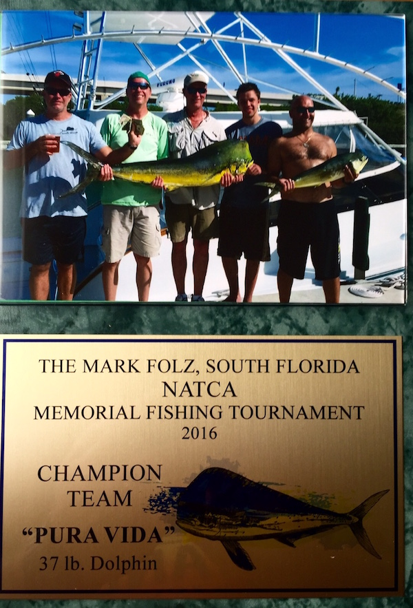 Fishing Tournament Award