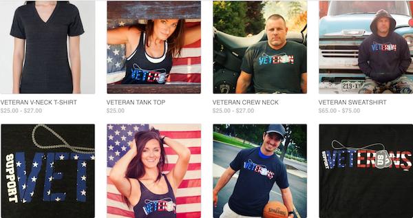 Veteran Shirts ZDV