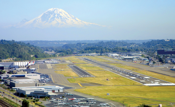 Boeing Field courtesy of airport journalscom