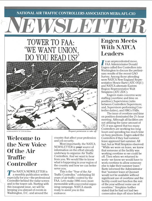 First NATCA Newsletter