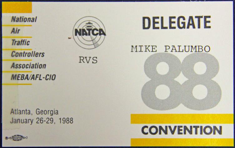 88 Delegate Badge