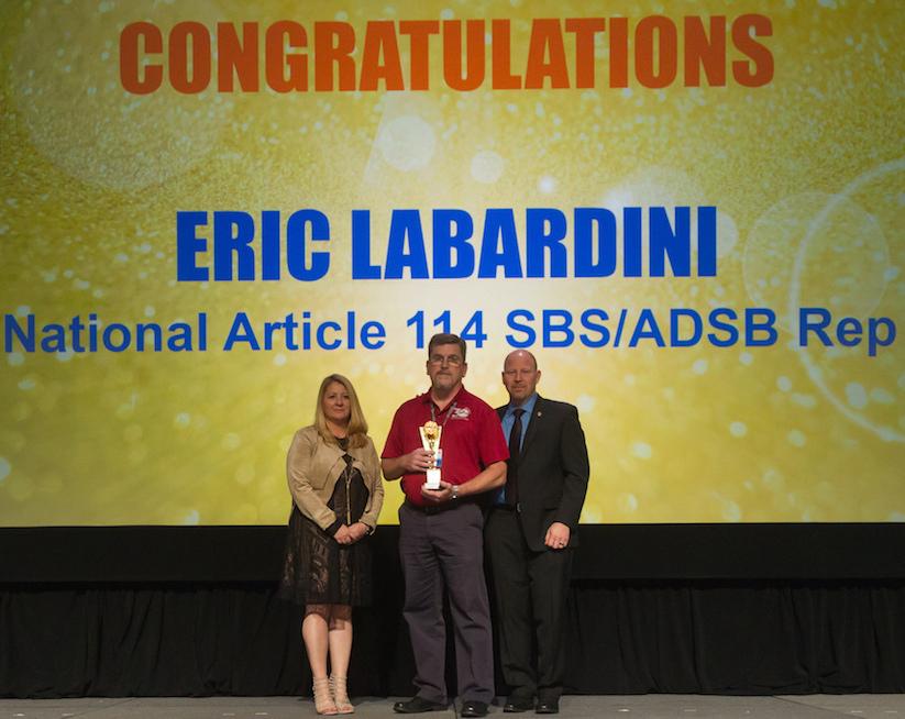 Timmy Award Eric Labardini