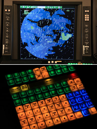 Connecting the STARS stars display keyboard