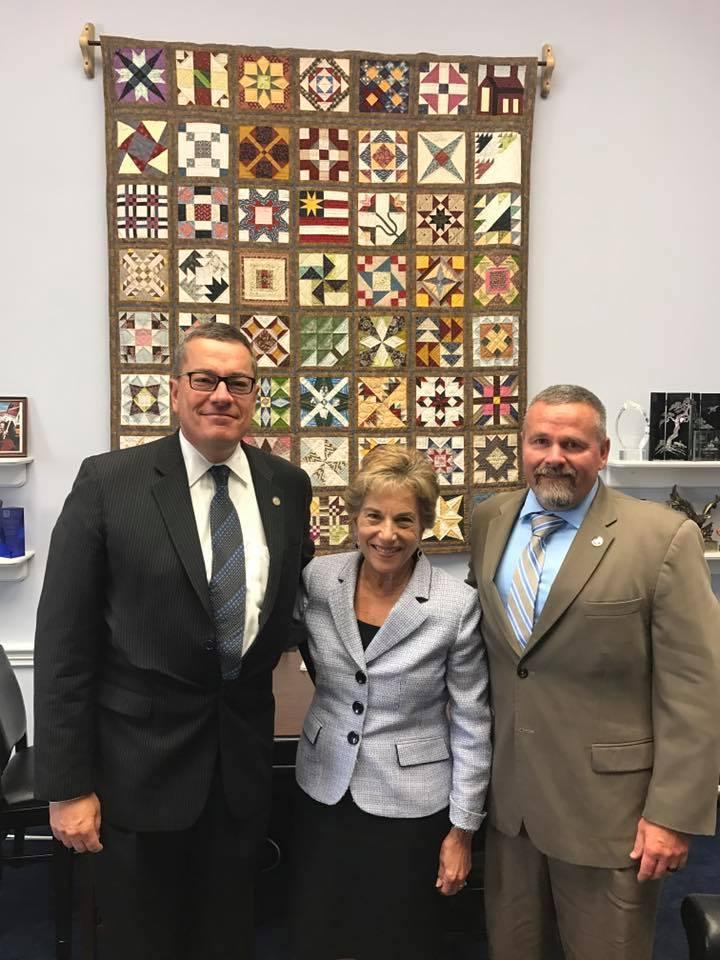 Congresswoman Schakowski and Hauck