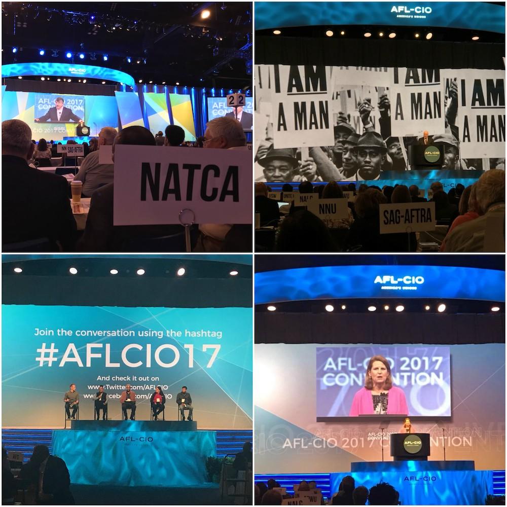 2017 AFLCIO Collage