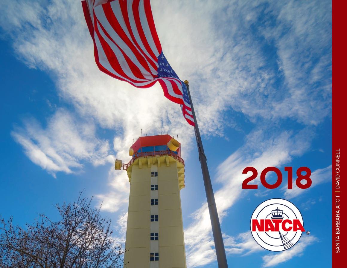 2018 NATCA Calendar Cover