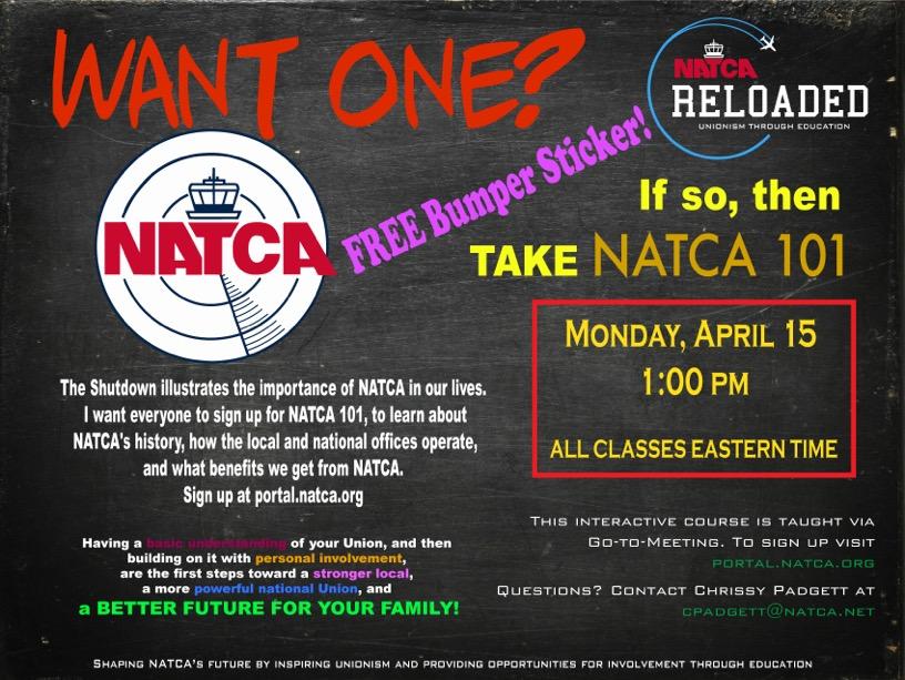 NATCA 101 APRIL Contest