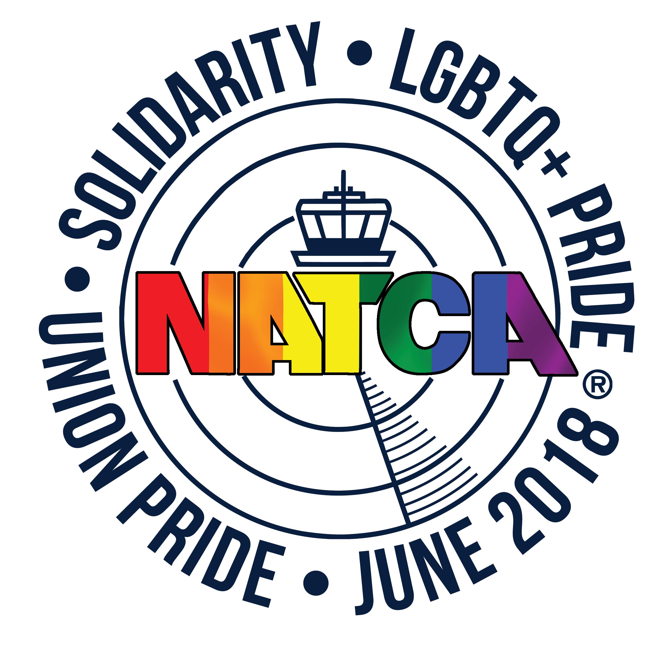 NATCA logo PRIDEv2.1 2018