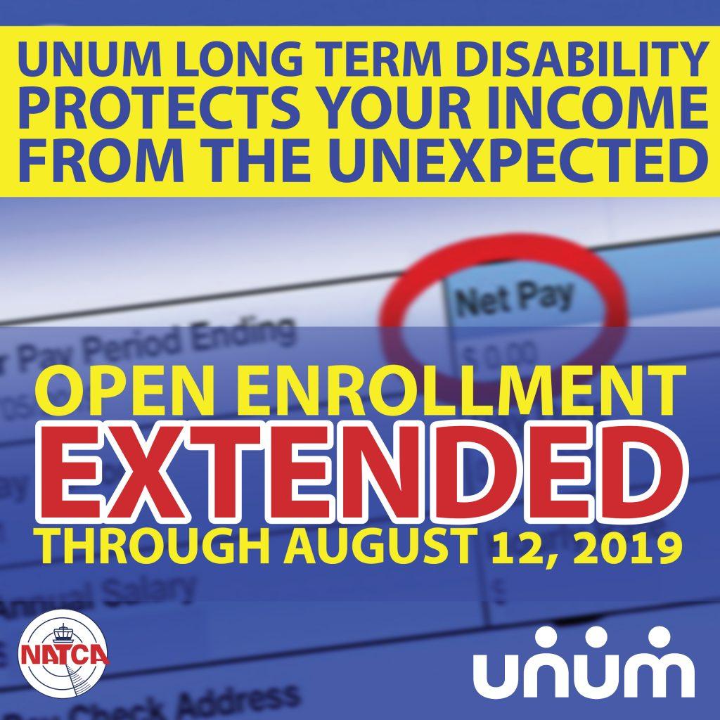 UNUM: Open Enrollment Extended