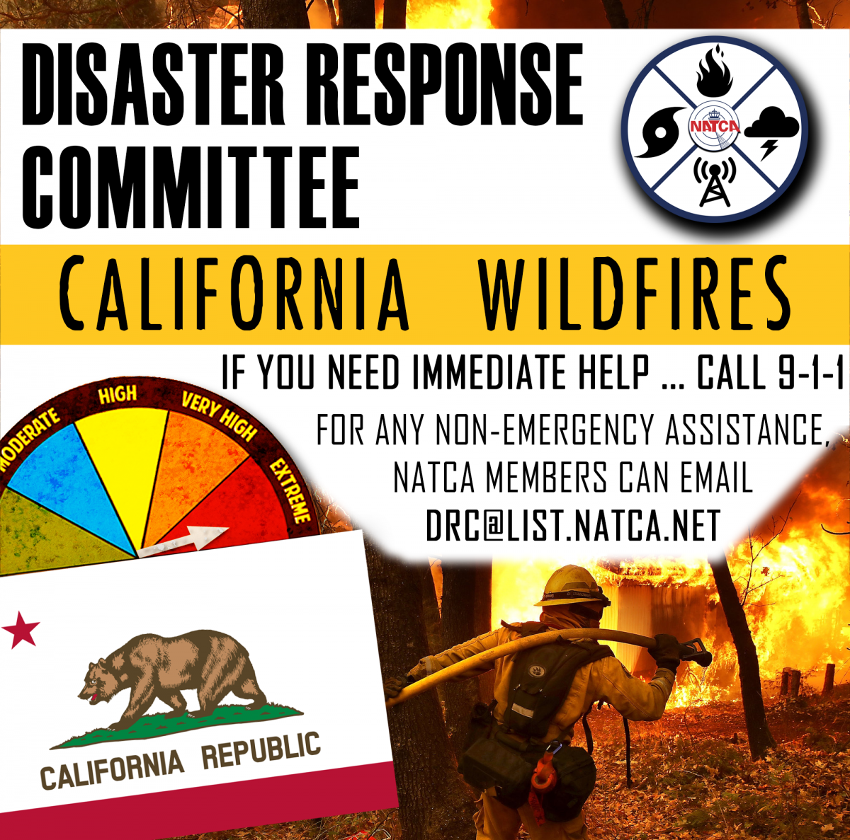 California Wildfires Help Graphic