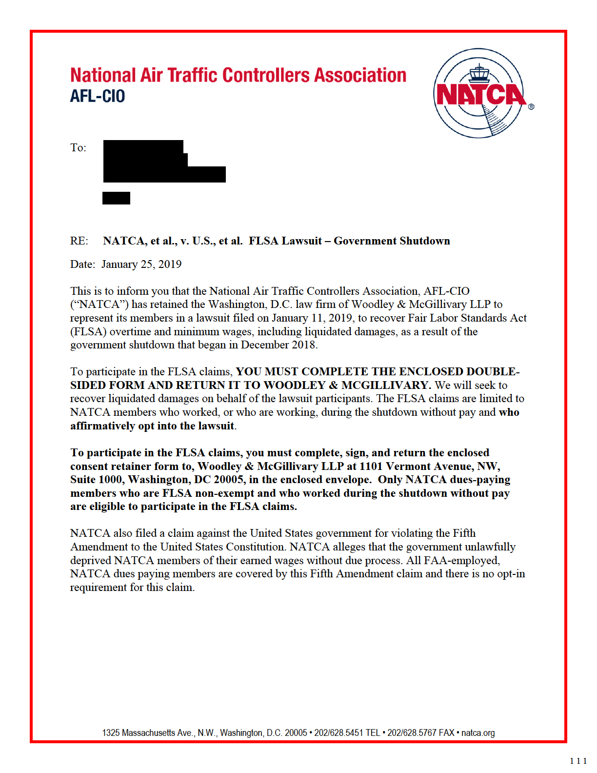56659 NATCA Government Shutdown Letter Signoff3 Redacted