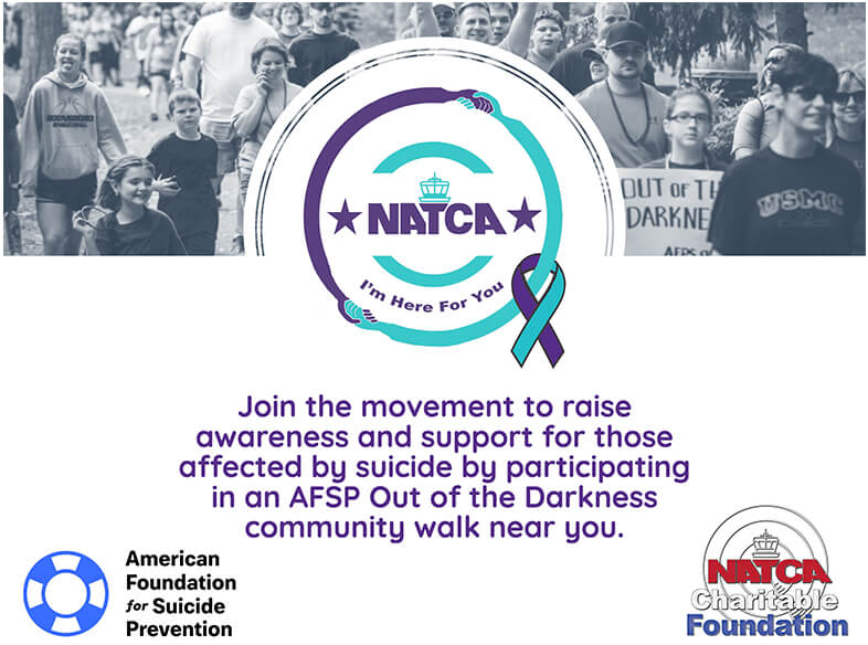 Join the movement to raise awareness and support for those affected by suicide by participating in an AFSP Out of the Darkness community walk near you.