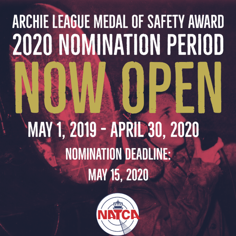 Nominate Your Colleague for a 2020 Archie League Medal of Safety Award