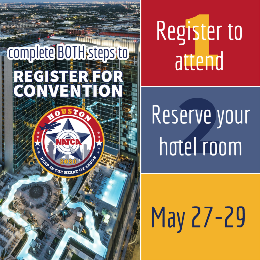 Convention Registration: Please Complete the Two-Step Process