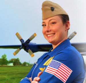 Series Finale: APA Member Jamie Sanders Talks Leadership With First Blue Angels Female Pilot Katie Cook