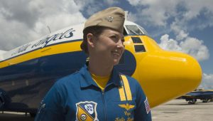 Celebrating Women in the Field of Aviation: Interview With First Female Blue Angels Pilot, Part 2 of 4